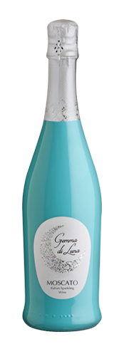 Bottle of Gemma di Luna Moscato Wine